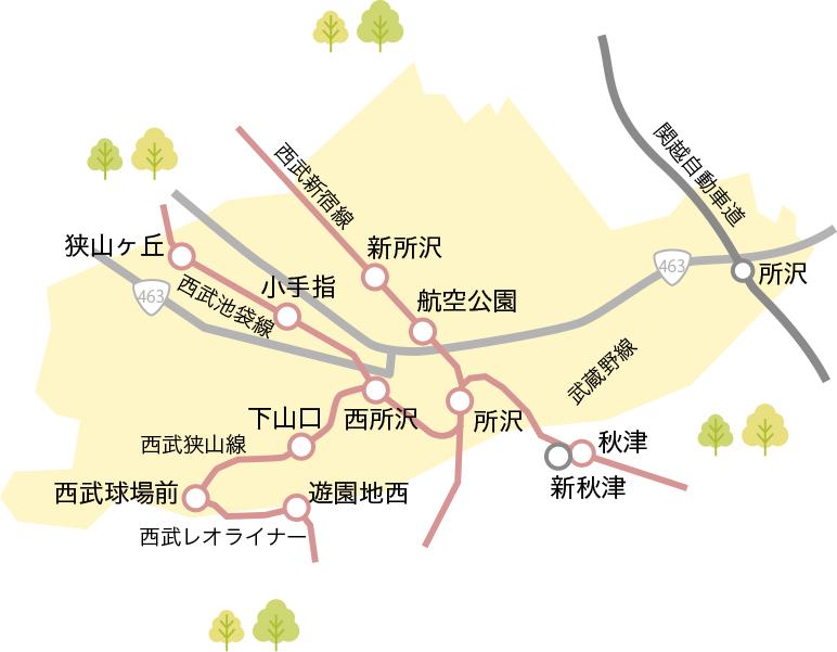 所沢市の暮らしの便利情報 | 埼玉の新築、注文住宅・リフォームのこと ...