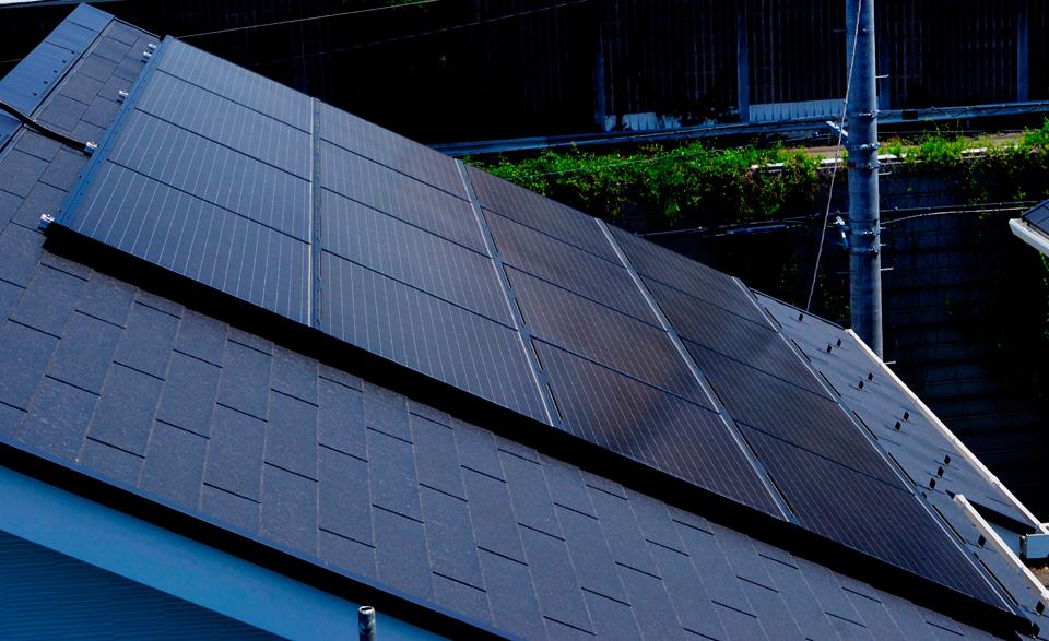 太陽光パネルを設置して電気代削減
