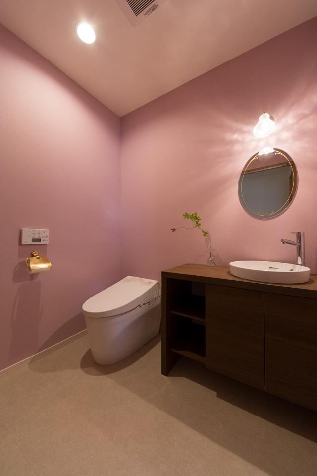 奥様一番のお気に入り。おもてなし感あふれるトイレに大変身。