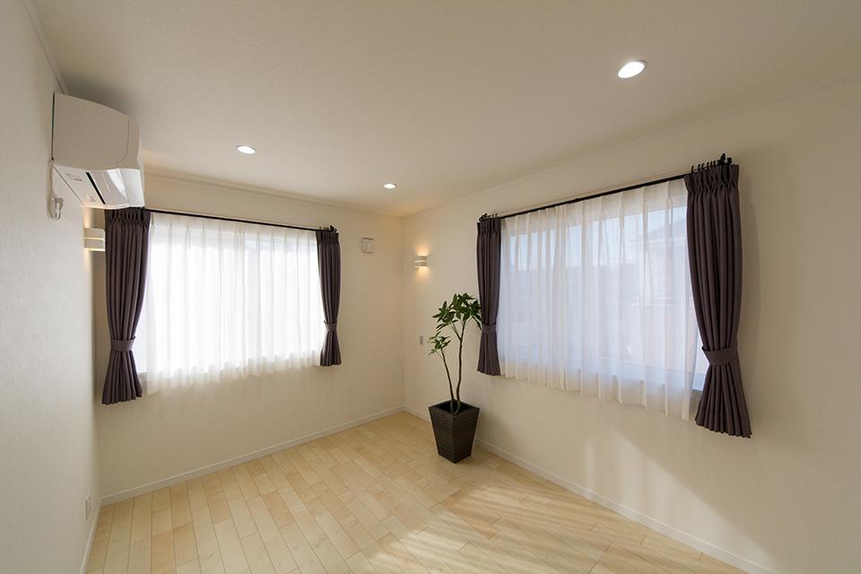 2階洋室A-ナチュラルな配色で心地よい穏やかな空間に。