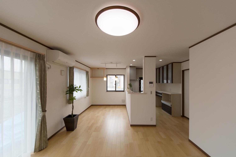 今後の生活が充実したものになるよう、ライフスタイルで変化する「家具」の配置に配慮した設計。
