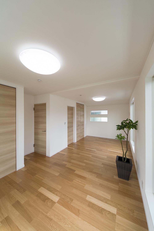 将来設計が楽しみなフレキシブルタイプの2F洋室。