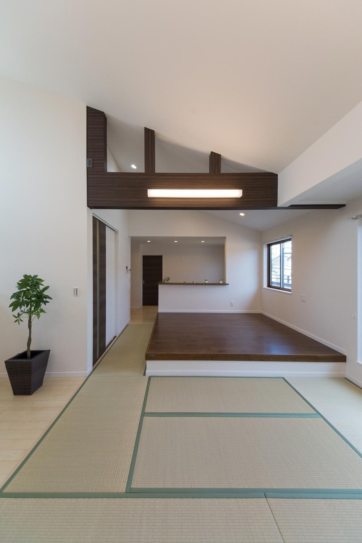 子世帯住居/和のなごみとスタイリッシュが融合した和モダンスタイル。