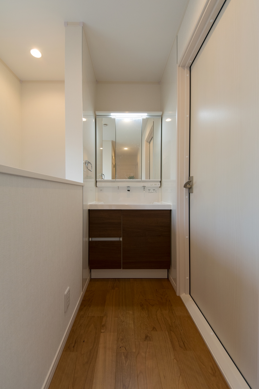 2階ホール/あると便利なセカンド洗面。