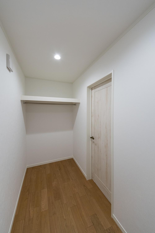 2階納戸スペース(2.62帖)。