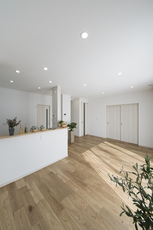 オールLED/長寿命と優れた省エネ性能で、家庭内の使用電力を削減します。明るさと光色を自由に調整できる為、季節や気分に合せてお好みに調整可能です。