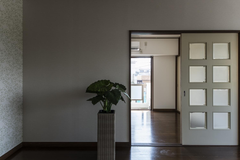 お部屋ごとにクロスを変えて、それぞれの空間を楽しめるようにしました。