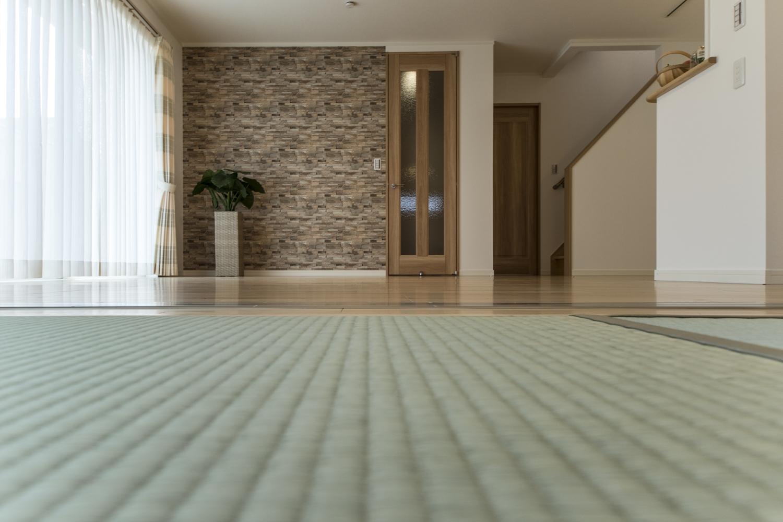 ゴロンっと横になれる畳のお部屋。
