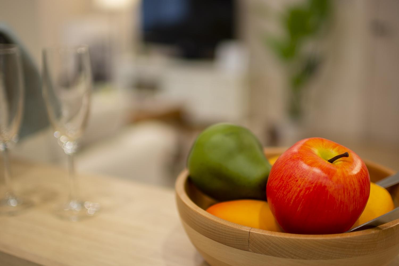 キッチンカウンターにはアイテムを飾ったりインテリアも楽しめます♪