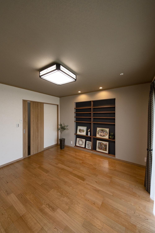 和室を洋室に大変身させました。