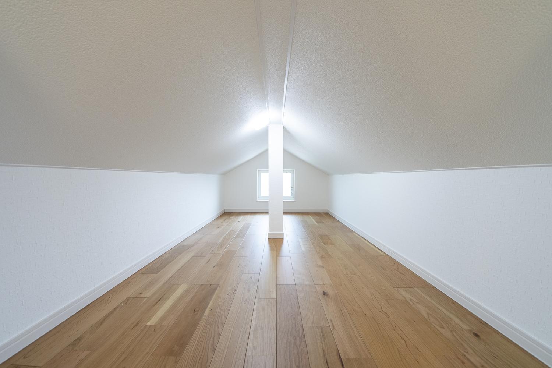 ロフト(3.5帖)/屋根裏のスペースを有効活用して、季節ものやご家族の大切な思い出が保管できます。