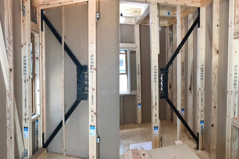 地震から大切な家族と家を守る、自社開発の耐震+制振システム「GMAS(ジーマス)」を採用した安心の住まいが完成しました。