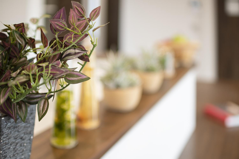 リビングを見渡せる対面式キッチンはお料理をしながらでもご家族との会話を楽しめます。