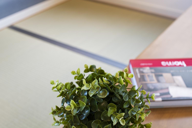 小上がり畳/畳のさわやかなグリーンが心地良い場所♪