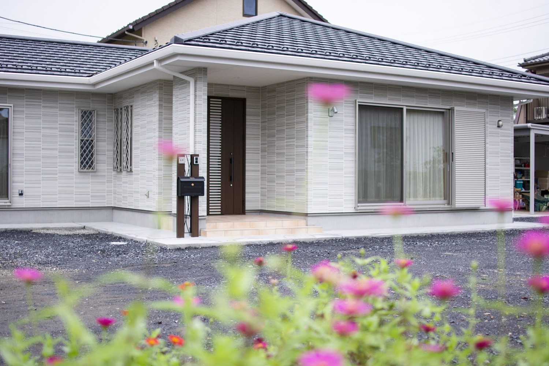 住協建設の注文住宅「プレミジェンス」。今も将来も考えた、機能的で広々とした平屋の住まい。