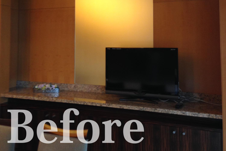 Before/TVスペース