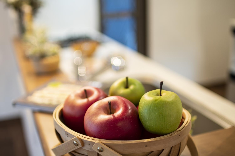 料理をつくる時間、家族と過ごす時間を大切にするキッチン。