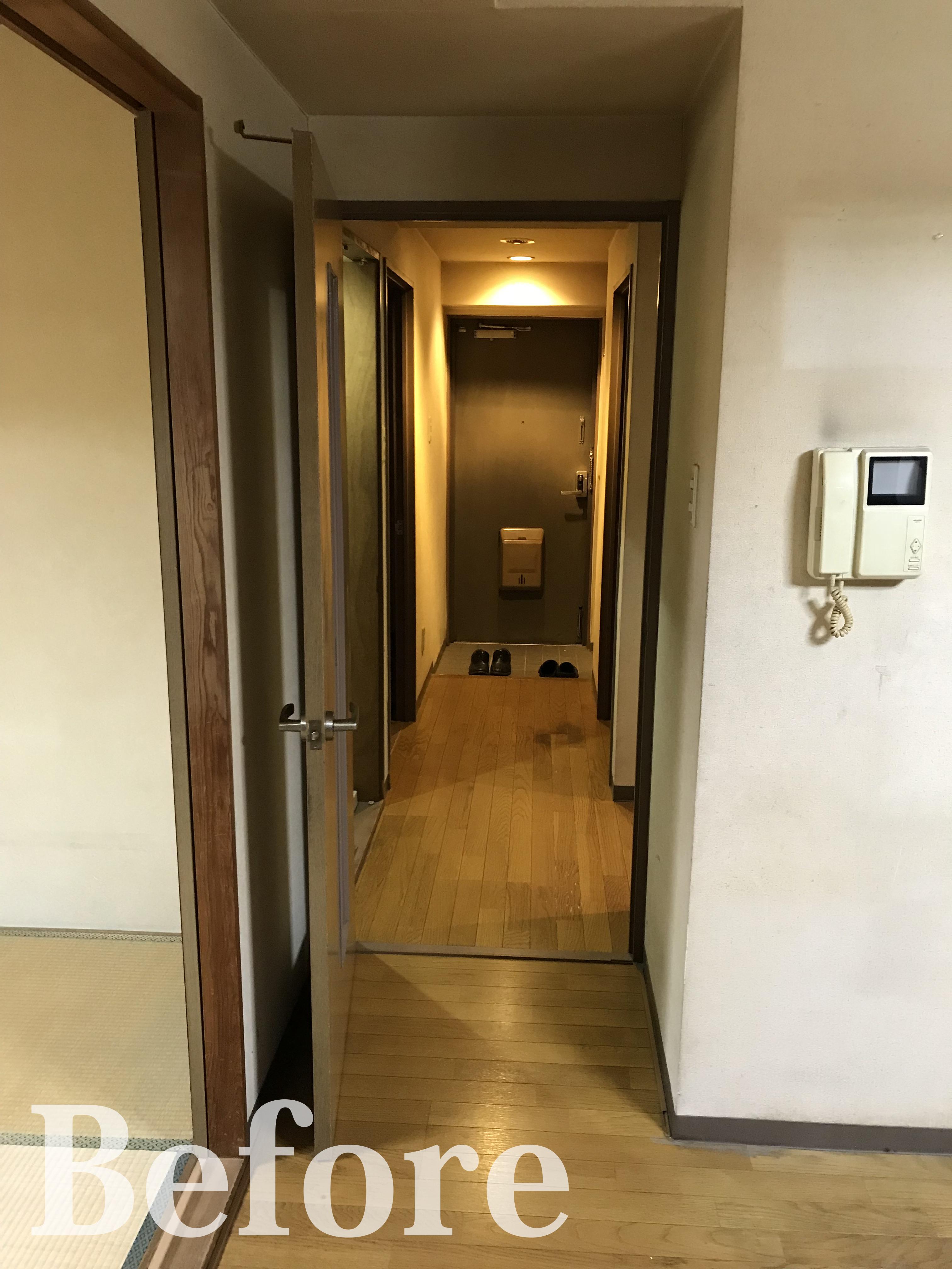Before/廊下~玄関