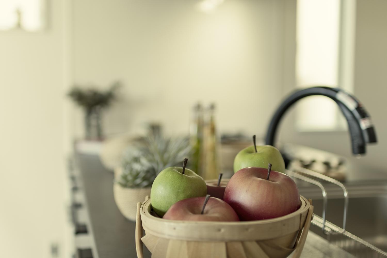 キッチンが使いやすくなると、料理はさらに楽しく、快適に♪