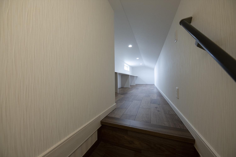 頼もしい要領で室内をスッキリ整える小屋根裏収納(3階)